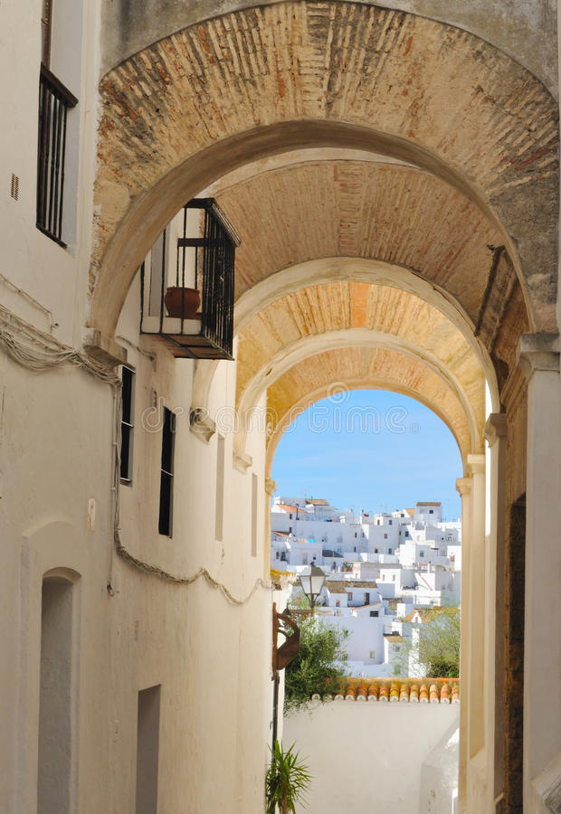 Vejer Arches Stock Image