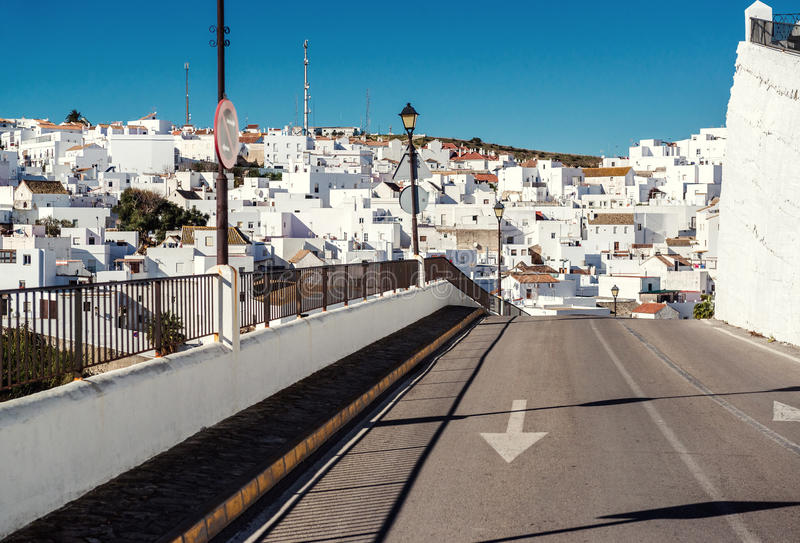 Vejer de la Frontera. Costa de la Luz, Spain stock photo