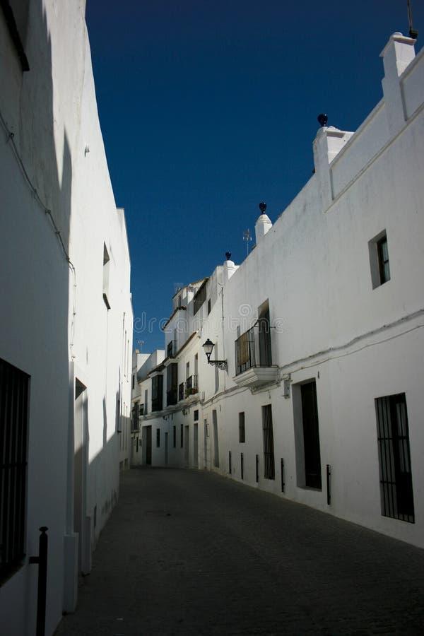Vejer, Spagna fotografia stock libera da diritti