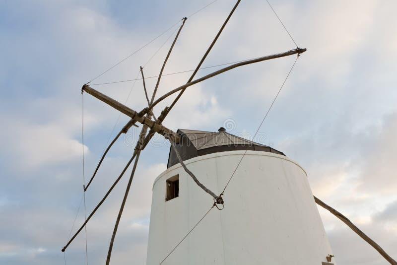 vejerwindmill royaltyfri foto