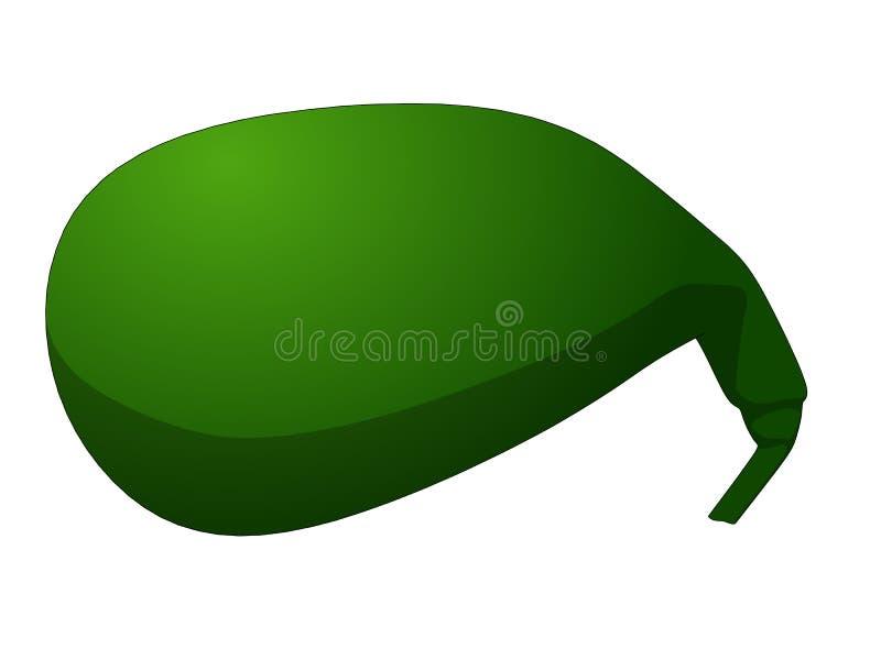 Vejiga de rozadura stock de ilustración