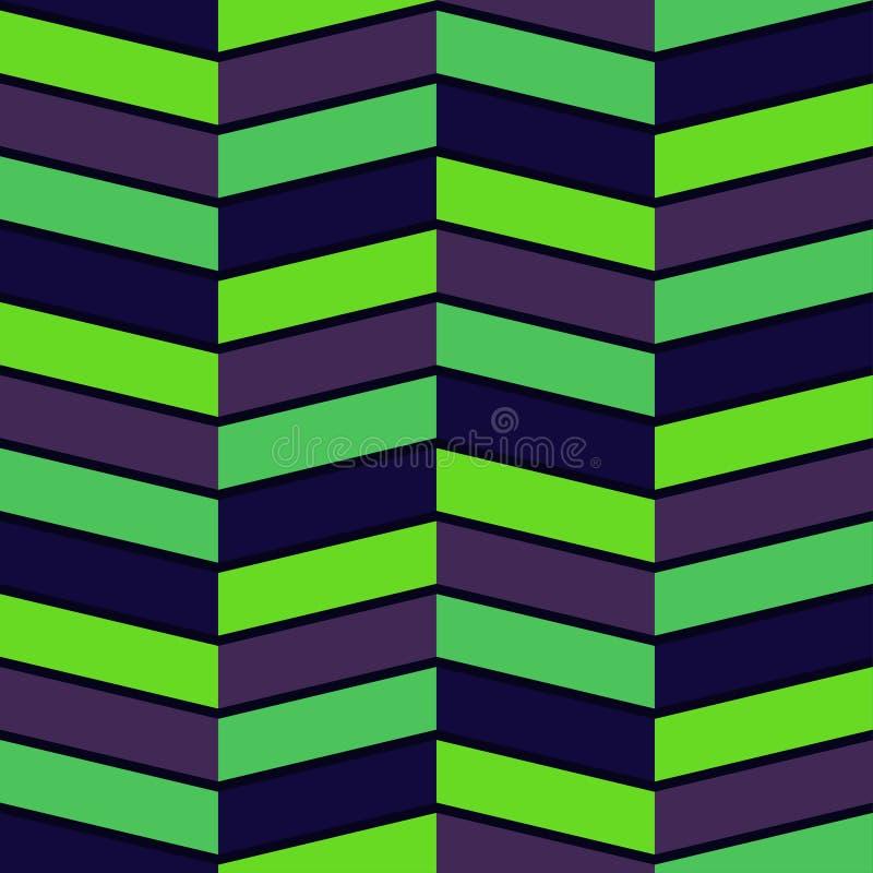 Download Vektor-abstraktes Geometrisches Nahtloses Muster-Design Vektor Abbildung - Illustration von würfel, auslegung: 96933436