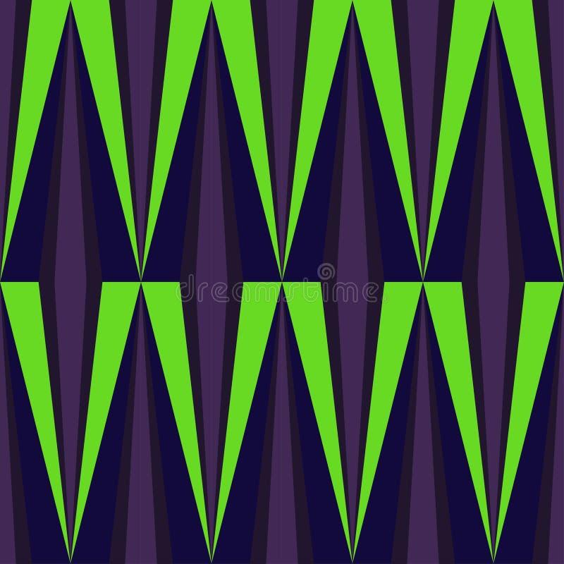 Download Vektor-abstraktes Geometrisches Nahtloses Muster-Design Vektor Abbildung - Illustration von auszug, schicht: 96933962