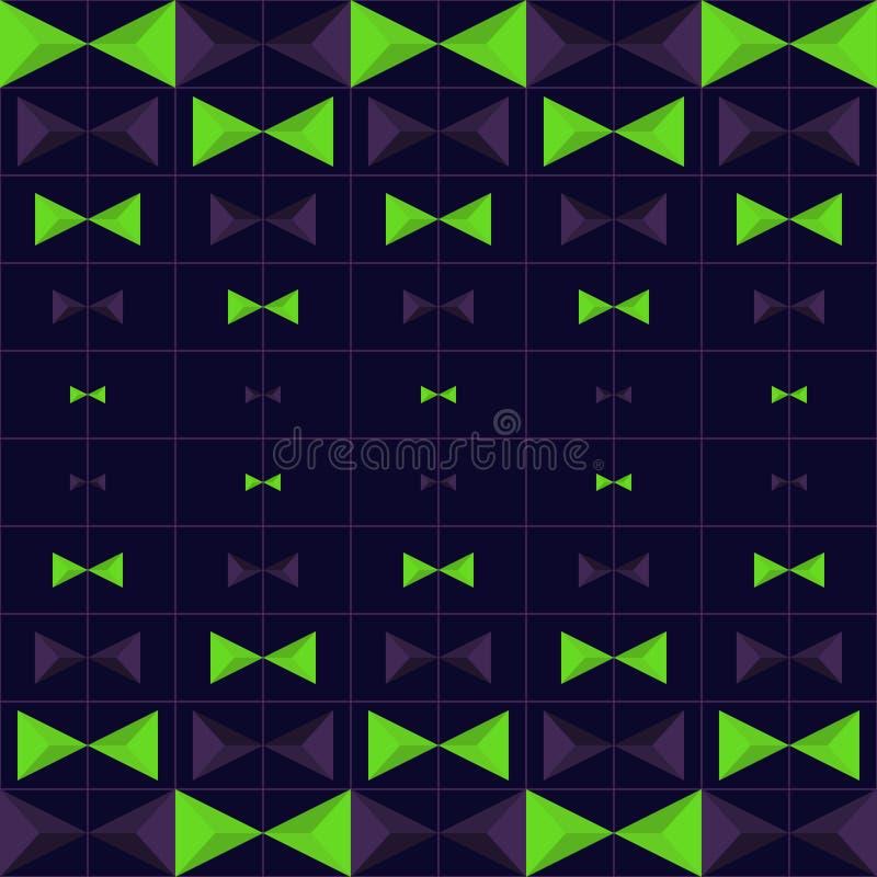 Download Vektor-abstraktes Geometrisches Nahtloses Muster-Design Vektor Abbildung - Illustration von deckung, schicht: 96933965