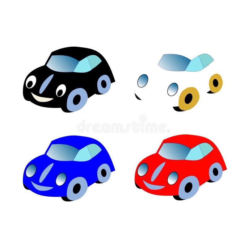 Vektor-Auto lizenzfreie stockfotos