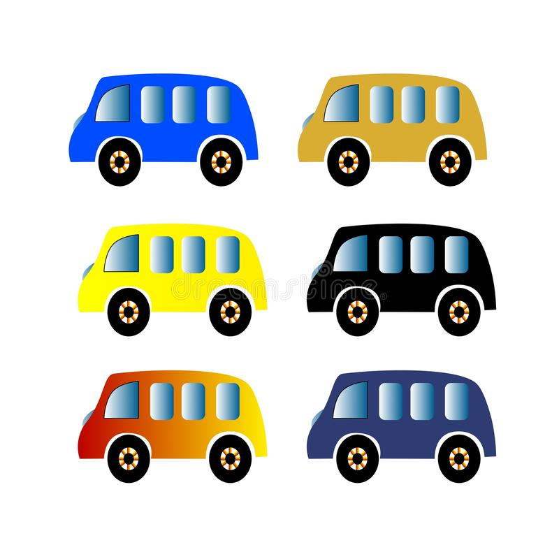 Vektor-Auto lizenzfreie stockbilder