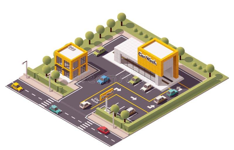 Vektor-Autowäsche vektor abbildung