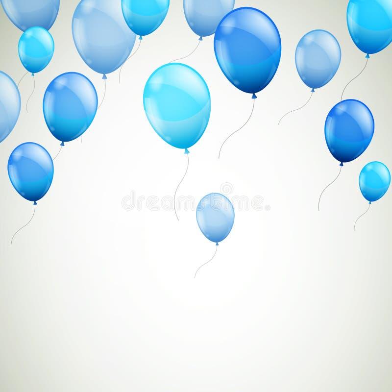 Vektor-Ballone lizenzfreie abbildung