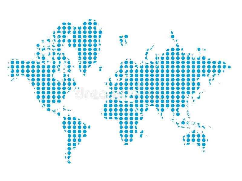 Vektor der Welt lizenzfreie abbildung