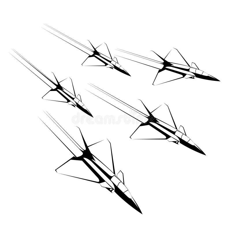 Vektor dragen kämpe vektor illustrationer