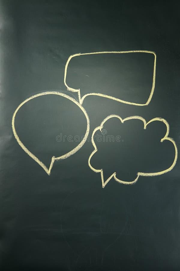 vektor för anförande för bubbladiagramperson talande arkivfoton