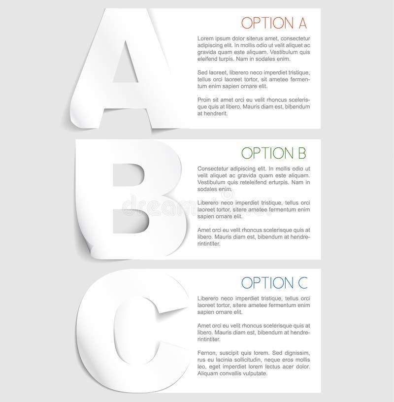 vektor för bakgrundsprogressmoment tre vektor illustrationer