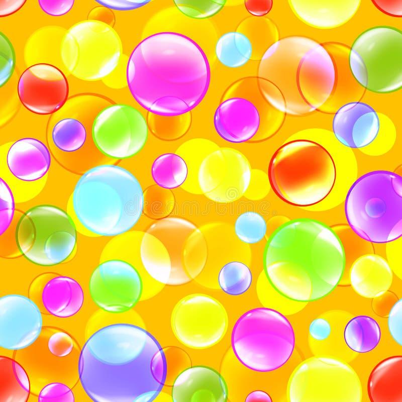 Vektor för bubblafärgbakgrund vektor illustrationer
