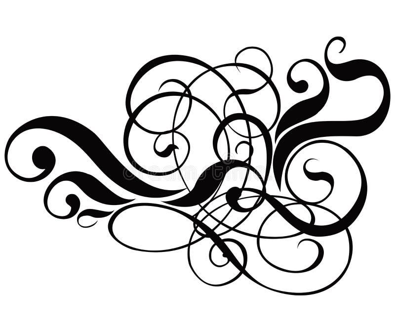 Download Vektor För Cartouchedekorscroll Vektor Illustrationer - Illustration av design, mödrar: 515533