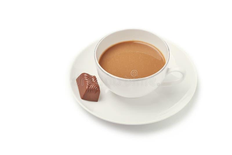 vektor för chokladkaffekopp royaltyfria bilder