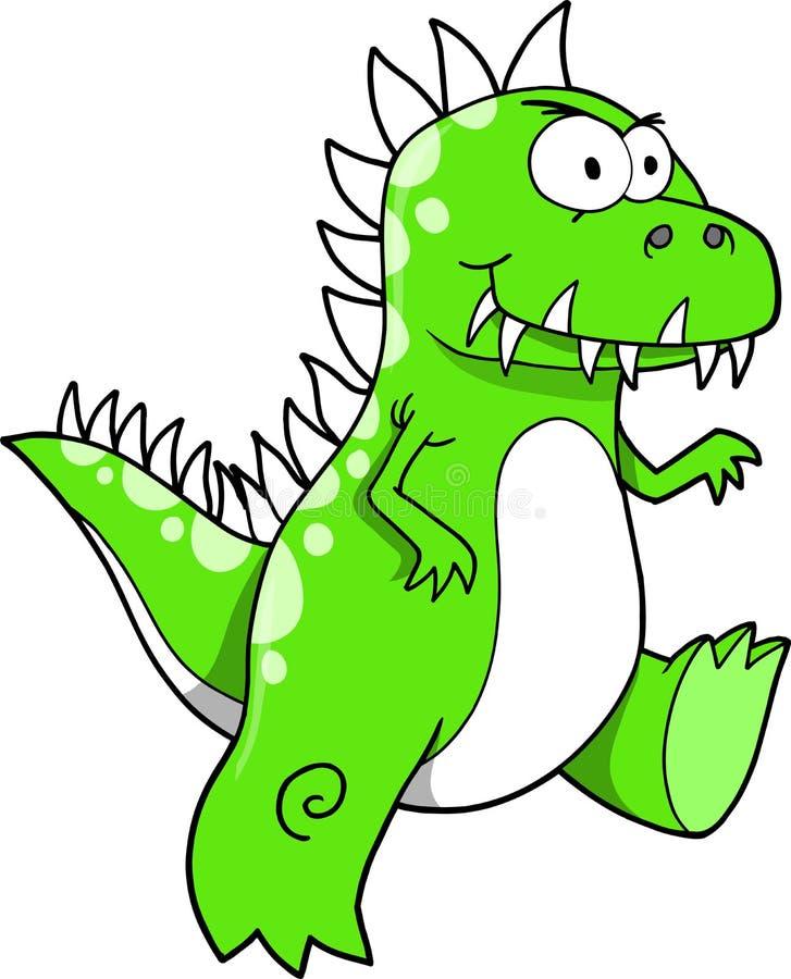vektor för dinosaurillustrationtyrannosaurus royaltyfri illustrationer