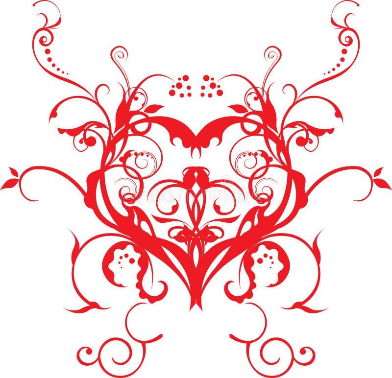 vektor för förälskelse för konstillustrationsbackround royaltyfri fotografi
