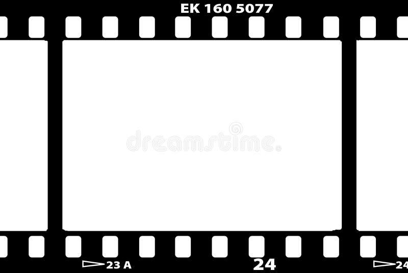 vektor för filmillustrationremsa stock illustrationer