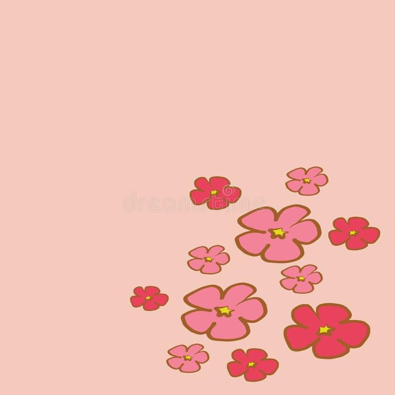 Vektor för illustration för Cherry Blossom trädfilial royaltyfri illustrationer