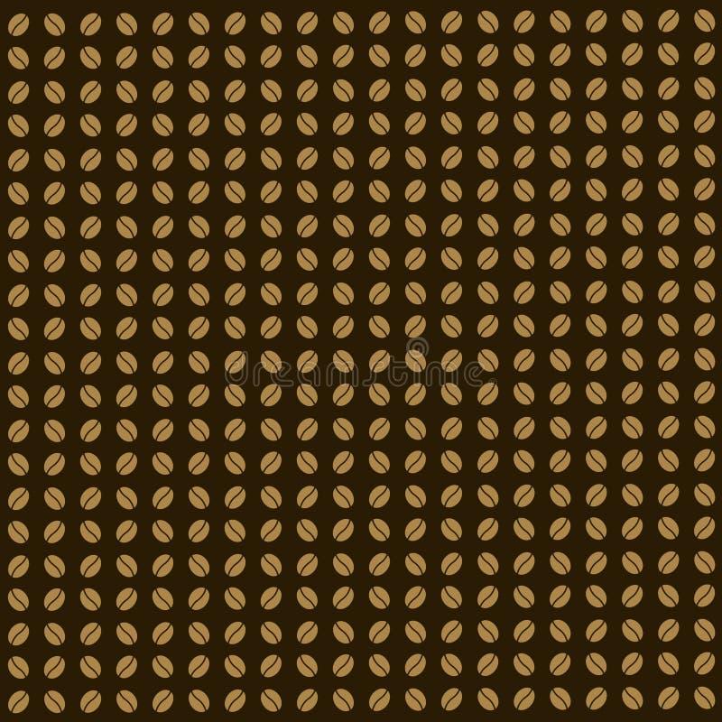 Vektor för kaffebönor vektor illustrationer