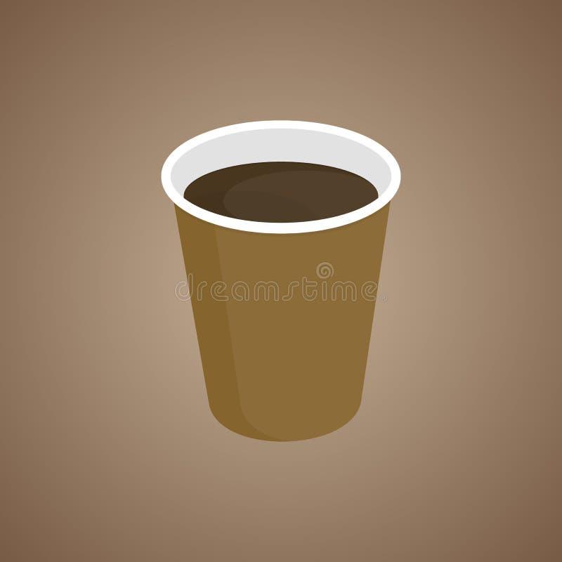 Vektor för kaffekopp vektor illustrationer