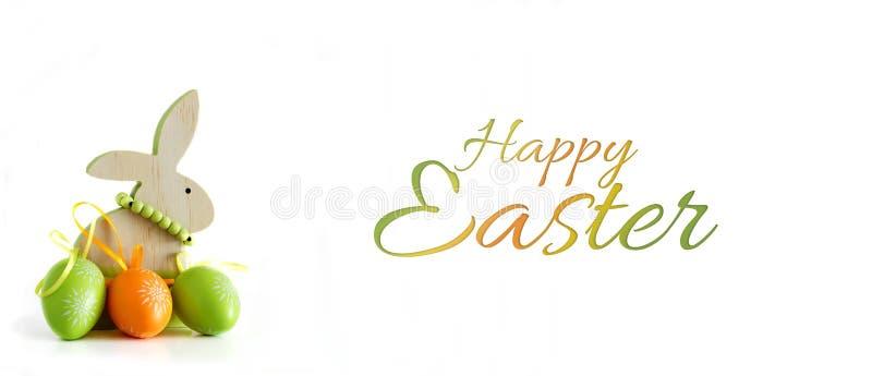vektor för kanin för illustration för korteaster ägg royaltyfri bild