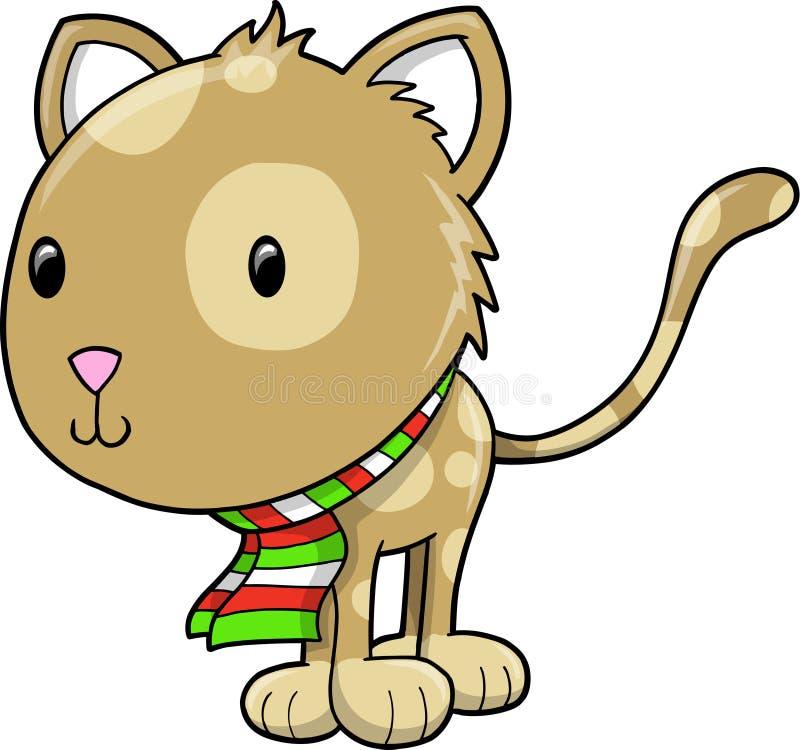 vektor för kattferieillustration vektor illustrationer