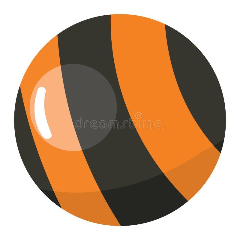 Vektor för Lolipop godissymbol stock illustrationer