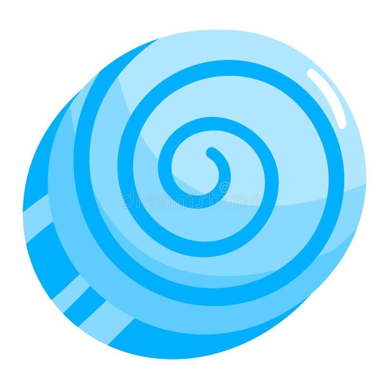 Vektor för Lolipop godissymbol royaltyfri illustrationer