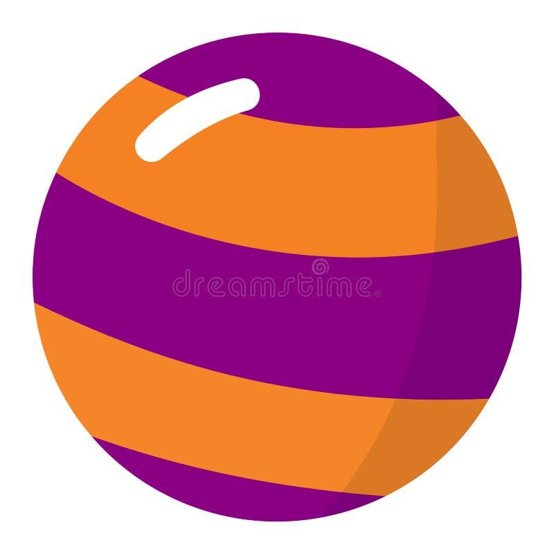 Vektor för Lolipop godissymbol vektor illustrationer