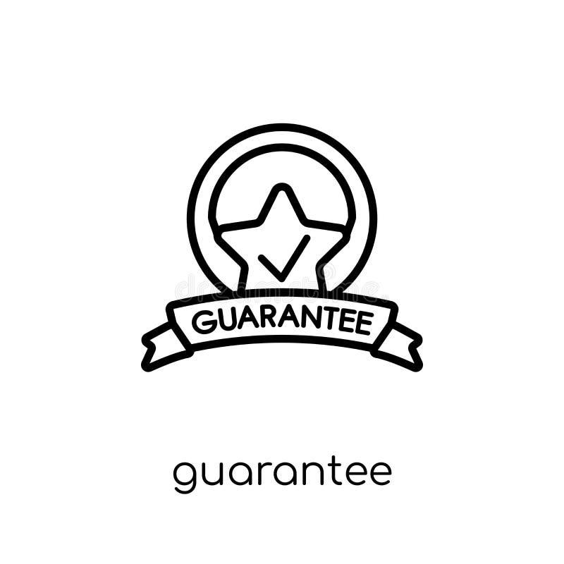 vektor för match för symbol för guarantee för konstfärg färdig  stock illustrationer