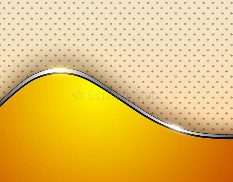 vektor för orange för bakgrundsaffärsillustration royaltyfri illustrationer