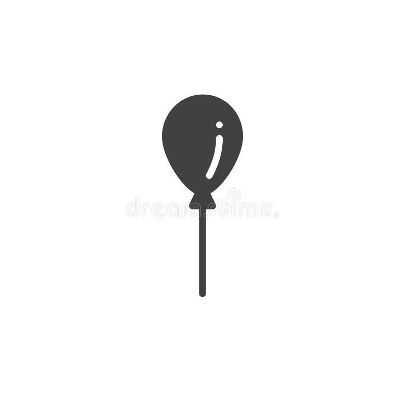 Vektor för partiballongsymbol stock illustrationer