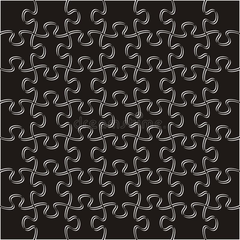 vektor för pussel för bakgrundsillustrationstycken royaltyfri illustrationer