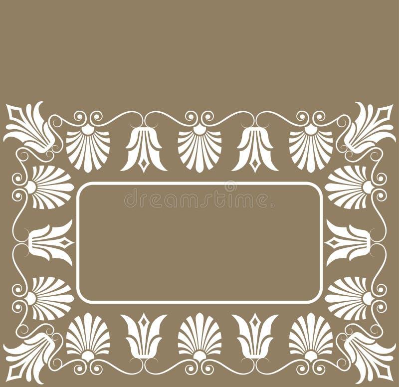 Download Vektor För Ram För Blomma För Bakgrundsdesignelement Vektor Illustrationer - Illustration av titelrad, dingbat: 977521