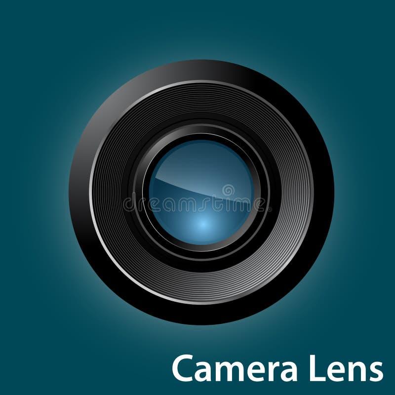vektor för regnbåge för lins för illustration för kameraeffekt eps10 royaltyfri bild