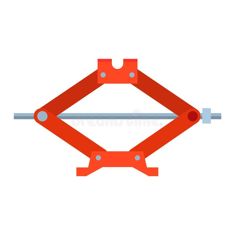 Vektor för service för reparation för stål för bilstålarskott royaltyfri illustrationer