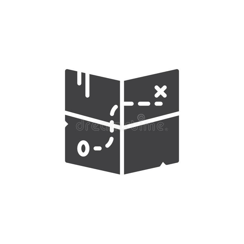 Vektor för skattöversiktssymbol royaltyfri illustrationer