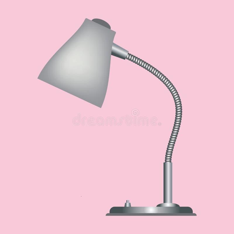 Vektor för skrivbordlampa royaltyfri bild
