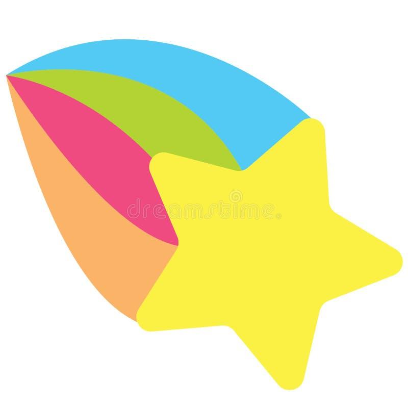 Vektor för skyttestjärna, Eps, logo, symbol, konturillustration vid crafteroks för olikt bruk Besöka min website på https://craft vektor illustrationer