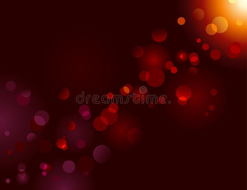 vektor för sparkle för lampa för bokehprickeffekt magisk royaltyfria foton