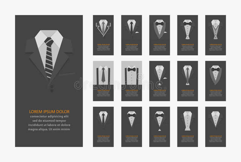vektor för stil för logo för illustration för affärskort corporative vektor illustrationer