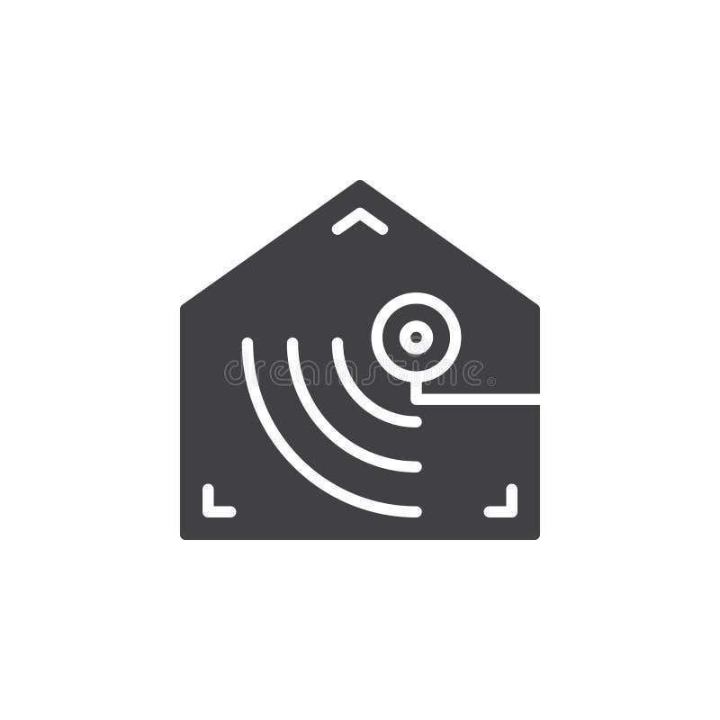 Vektor för symbol för rörelseavkännare vektor illustrationer