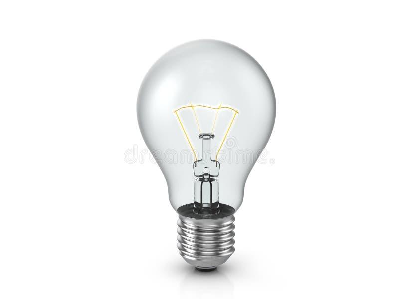 vektor f?r lampa f?r illustration f?r kulabegreppsid? stock illustrationer