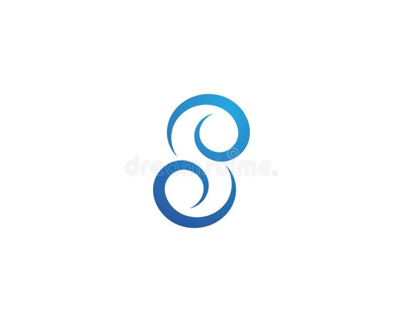 Vektor f?r symbol f?r vattenv?g vektor illustrationer