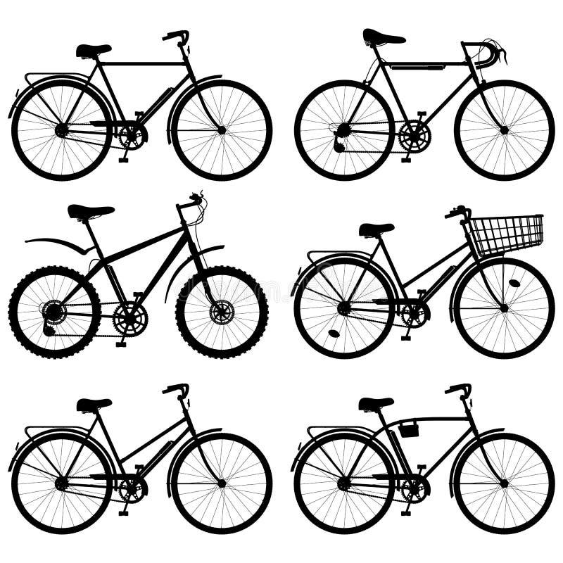 Vektor-Fahrrad-Piktogramm lizenzfreie abbildung