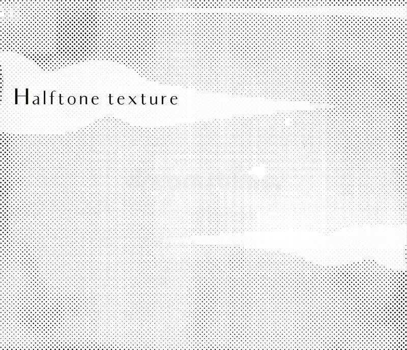 Vektor-Halbton-Beschaffenheit lizenzfreie abbildung
