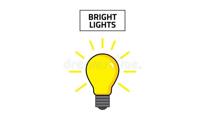 Vektor-heller Lichter Clipart-Vektor stockbilder