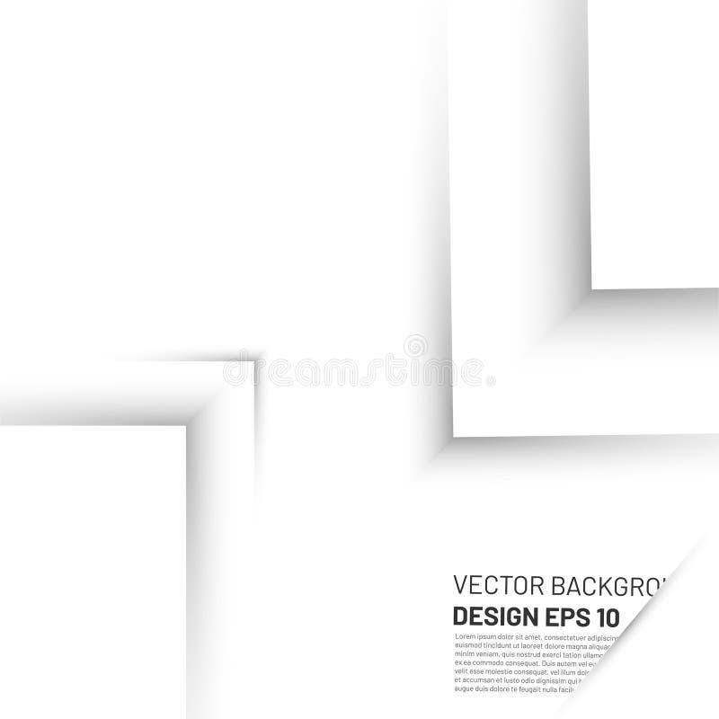 Vektor-Hintergrundschicht mit Platz für Text- und Nachrichtengestaltung moderner Kunstwerke lizenzfreie abbildung