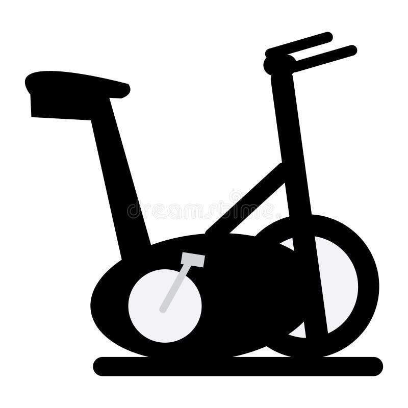 Vektor-Hometrainer-Illustration lokalisiert auf weißem Hintergrund vektor abbildung